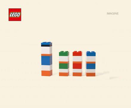 Lego blocks of cartoon characters via @pikaland