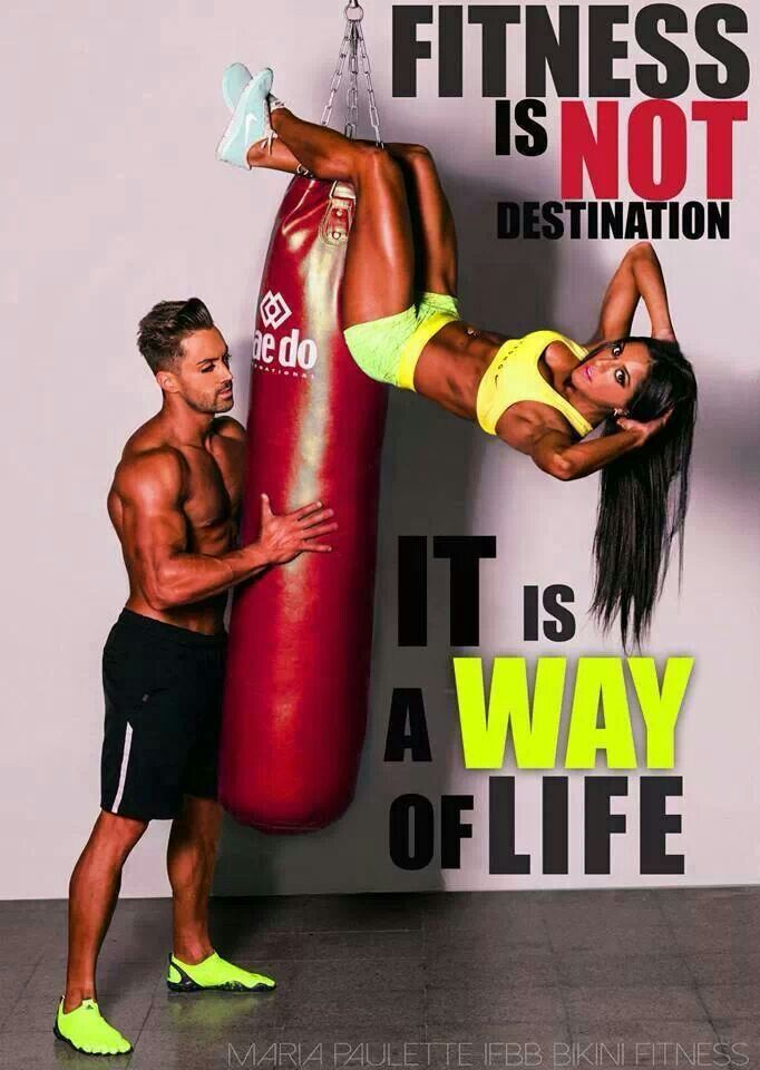 Fit couple  gym addiction