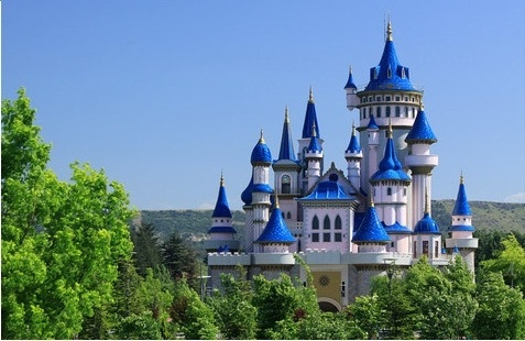 Fairy Tale Castle, Sazova, Turkey