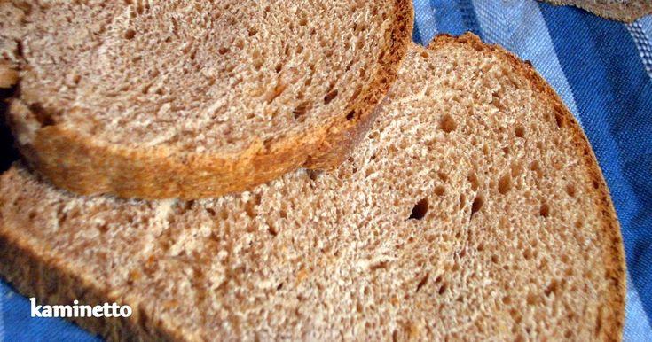 %100 tam buğday unu ile yapılan ekmekler sert dokulu oluyorlar. Bu nedenle bugüne kadar bir kaç kez sadece tam buğday unu kullandığım ekmek...