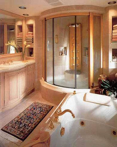 17 best images about houses on pinterest contemporary for Dream bathrooms