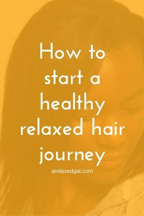 How to start a healthy hair journey whether your hair is relaxed, colored or natural ~ A Relaxed Gal http://www.arelaxedgal.com/2014/04/starting-a-relaxed-hair-journey.html
