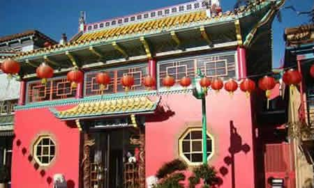 "from ""free things to do in So. Cal.  Old Chinatown Plaza Los Angeles China town"