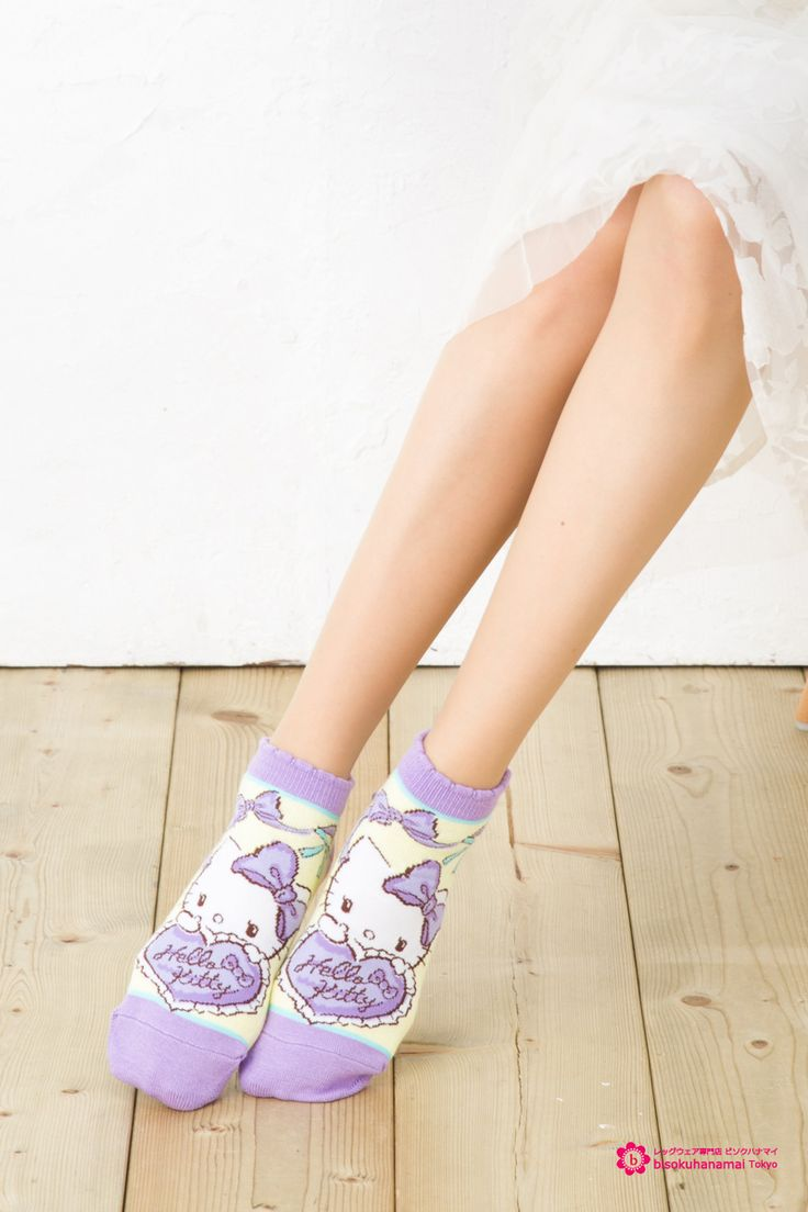 Hello Kitty Socks ハートクッション キティ ショートソックス