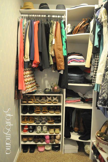 Suburbs Mama: My Own Closet!