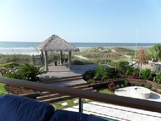 Spectular New Oceanfront Home with Private Tiki Hut and swim up BarVacation Rental in Forest Beach from @homeaway! #vacation #rental #travel #homeaway