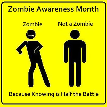 I need to print this out and put it on the safety board at work in October. I wonder if anyone will notice?