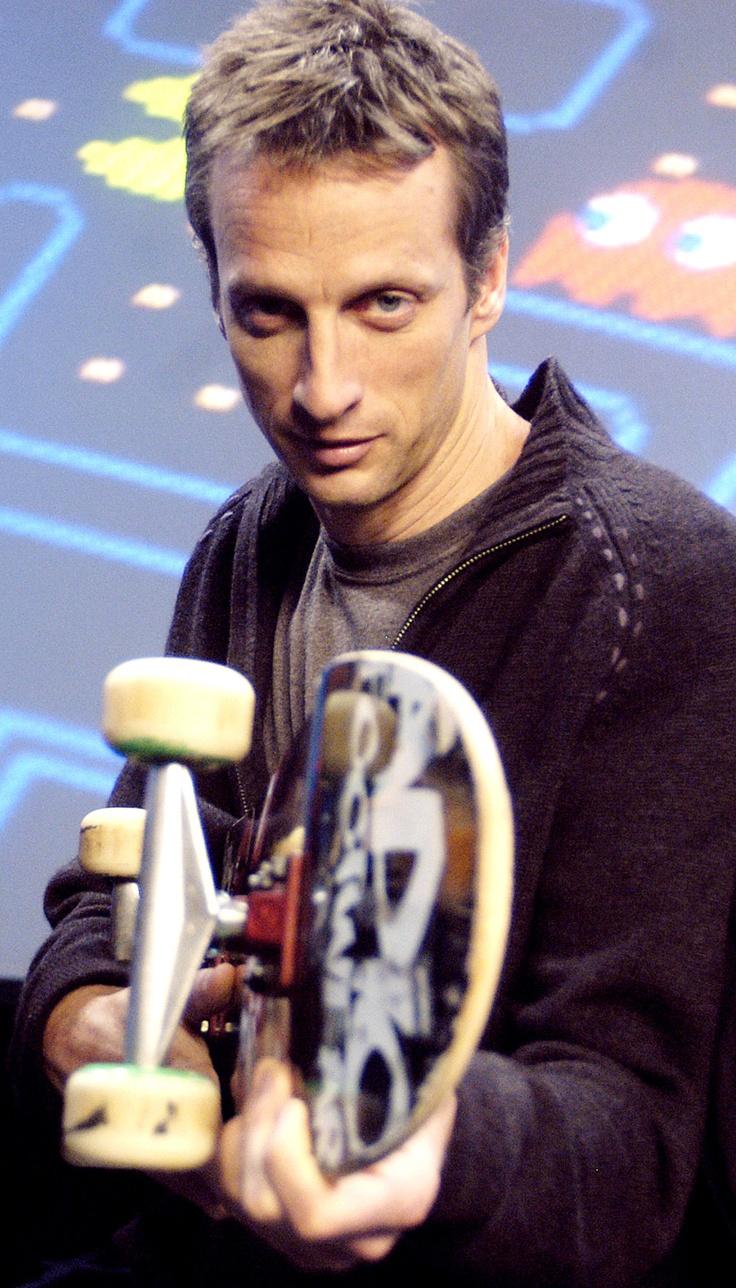 Tony Hawk Pro skateboarder