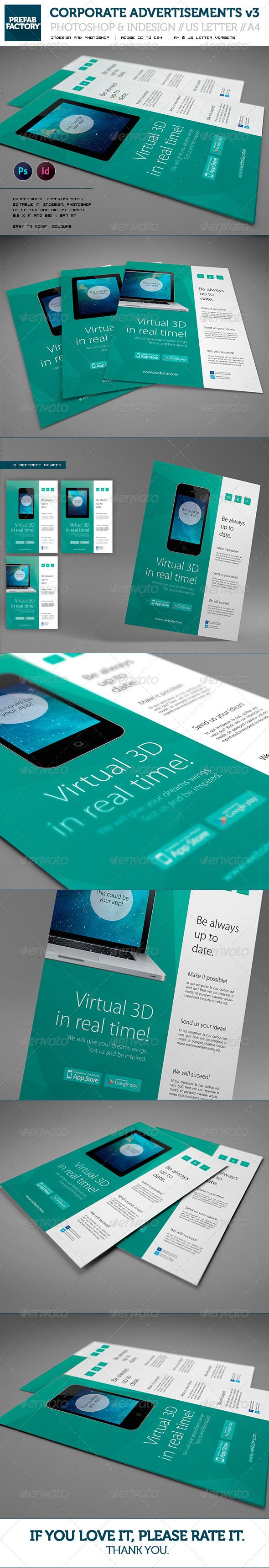 Corporate App Flyer / Advertisement / Multipurpose