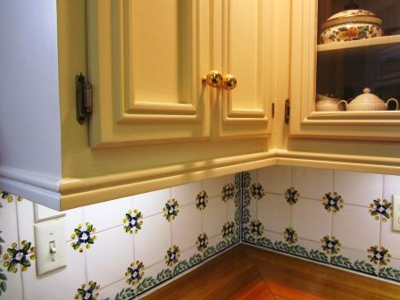 Adding Trim To Kitchen Cabinet Doors Contemporary