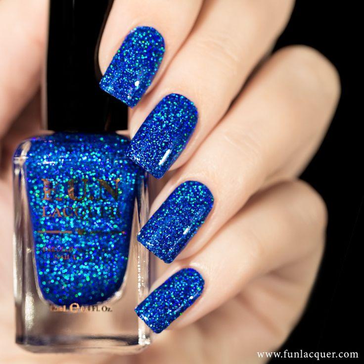 Best 25+ Royal blue nail polish ideas on Pinterest   Royal blue ...