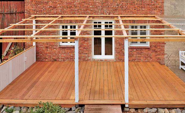 Günstige Terrassenüberdachung: Schritt 15 von 27