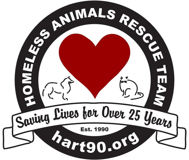 HART is a non-profit no-kill animal rescue/support group, which  takes in and re-homes abused and unwanted dogs and cats. HART works with local veterinarians, foster homes, kennels, and trainers to provide temporary housing, medical care, and training until placed in a loving, carefully-screened new home. HART takes in older, sick, injured and readily adoptable animals.