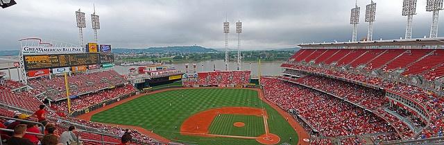Great American Ball Park home of the Cincinnati Reds