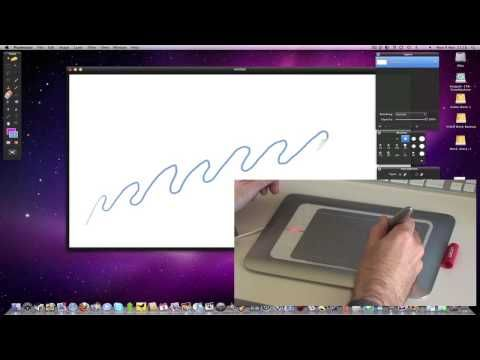 Wacom Bamboo Fun Pen & Touch Graphics Tablet Review - YouTube