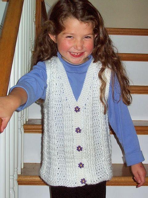 34 besten Crochet childrens/baby vests Bilder auf Pinterest ...