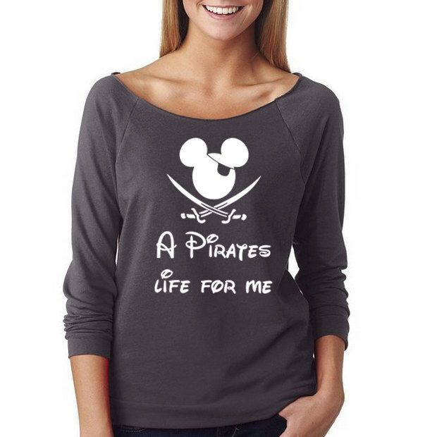 """Disney Pirate Shirt, Mickey Pirate Shirt, """"A Pirates Life for Me"""", Mickey Mouse Shirts, Pirates of the Caribbean Shirt, Jack Sparrow Shirt by HimAndGem on Etsy https://www.etsy.com/listing/263566137/disney-pirate-shirt-mickey-pirate-shirt"""