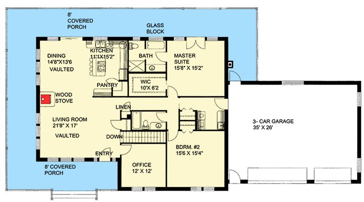 1000 ideas about brick ranch houses on pinterest brick for Brick ranch floor plans