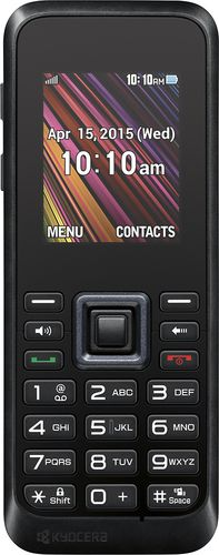 Buy T-Mobile Prepaid  Kyocera Rally No-Contract Cell Phone  Black