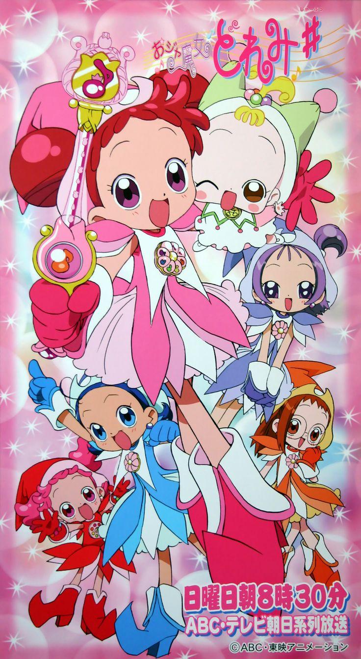 Tags: Ojamajo DoReMi, Harukaze Doremi, Senoo Aiko, Fujiwara Hazuki, Segawa Onpu, Harukaze Pop, Makihatayama Hana, Official Art, Umakoshi Yos...