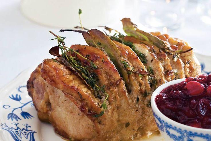 Gemarineerde rollade met cranberrysaus - Recept - Allerhande
