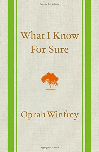 What I Know For Sure - Listing price: $24.99 Now: $18.62