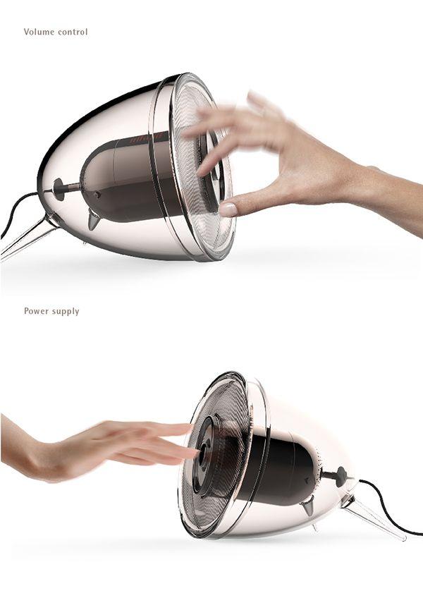 Retro Speaker on Behance