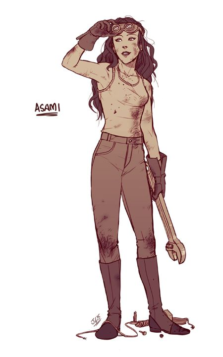 Commission - Asami by jayyl on DeviantArt
