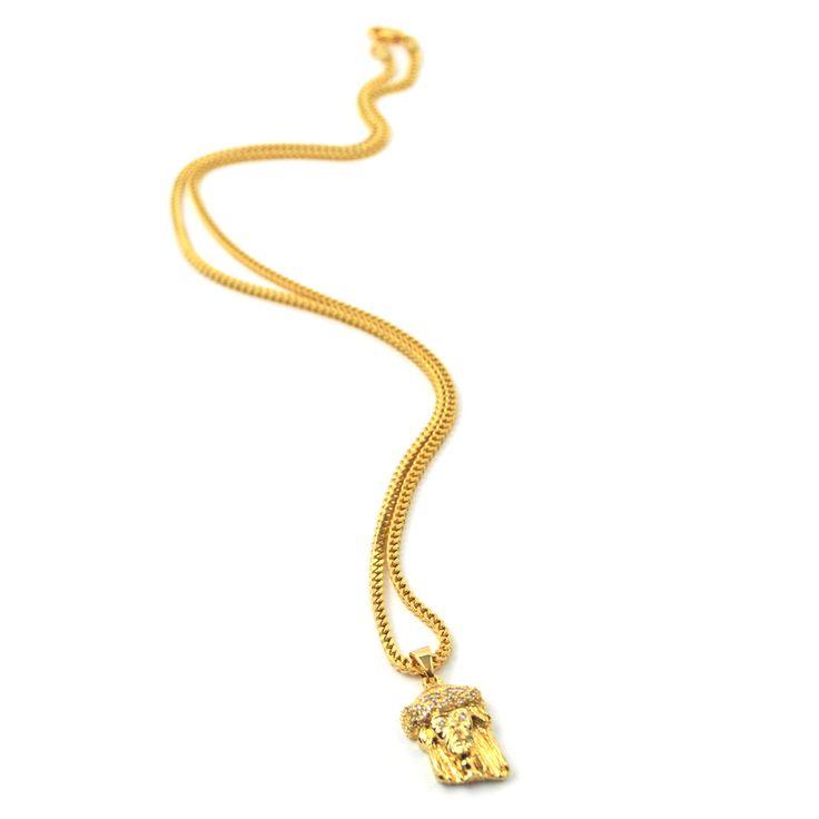 Jesus Piece Necklace - The Gold Gods Jewelry