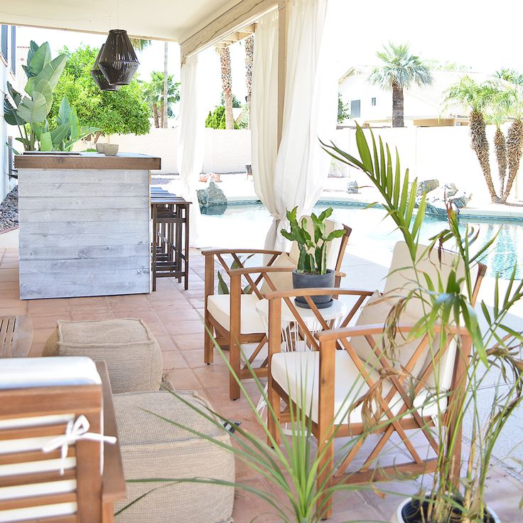 Diy outdoor bar with weaber lumber wall boards cg home interiors https