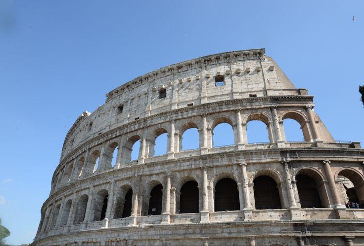 The #Colosseum, main tourist attraction in #Rome.