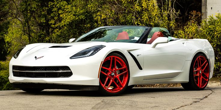 2015 chevrolet corvette stingray white wred rims and interior ghetto corvette pinterest chevy corvettes and corvette c7 - Corvette 2015 White