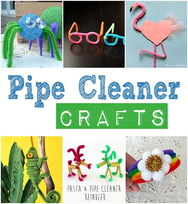 Pipe Cleaner Crafts | Crafting in the Rain #pipecleaners #kidcraft
