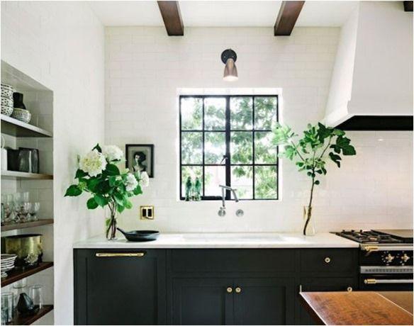 1000 Ideas About Black White Kitchens On Pinterest