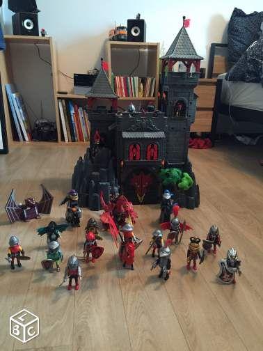 1000 id es sur le th me chateau playmobil sur pinterest for Playmobil 4865 prix