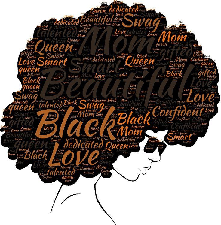 Download Black Woman Beautiful Mom SVG   Smart gift, Black gift ...