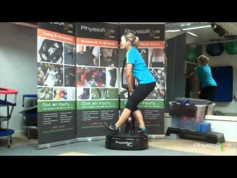 Exercise Tips: How to use a vibration plate.