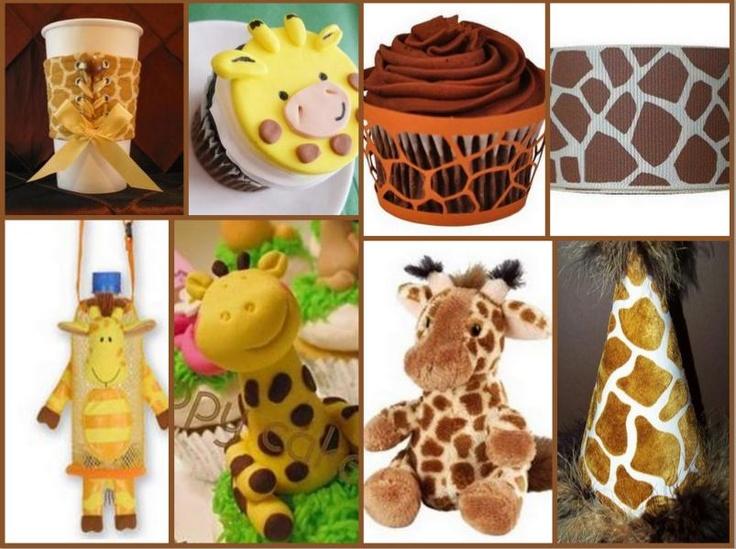 Giraffe Party - so cute! ;)