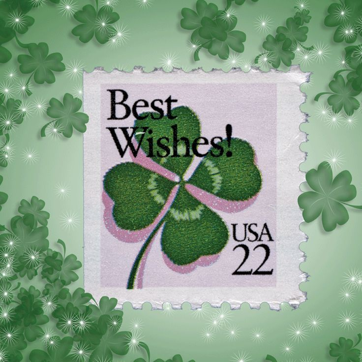 Set March Shamrocks as your computers wallpaper image. See this and the many other stamp fun wallpapers available from the American Philatelic Society (www.stamps.org)