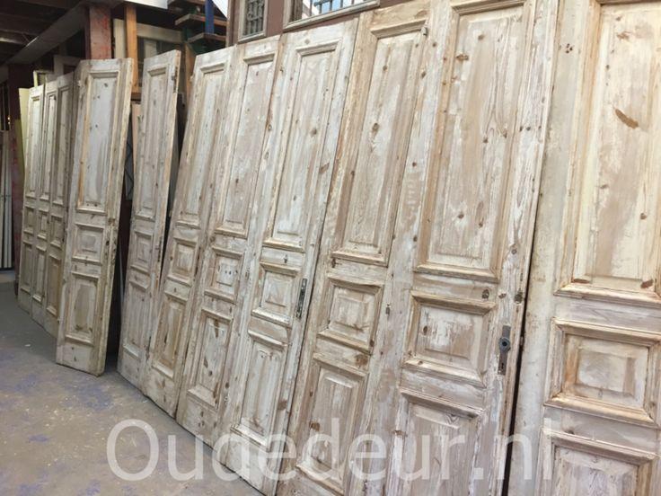 nr. set508 7 sets gelijke geloogde deuren, ook mooi als kastenwand