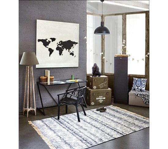 Tapis - Tapis 160x230 cm TYE&DYE bleu - 100€