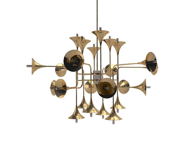 Delightfull lamps: 'Botti' unique, exclusive ceiling lamp !