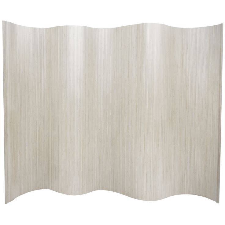 Bamboo Wave 6-foot Screen (China) - Overstock™ Shopping - Great Deals on Decorative Screens
