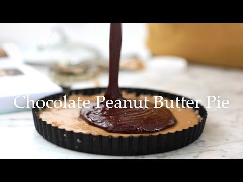 Deliciously Ella - Chocolate Peanut Butter Pie (from my new book!) - YouTube