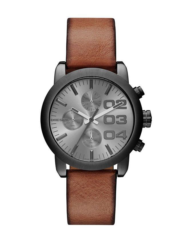 Diesel DZ5465 Flare Chronograph Brown Leather Women's Watch