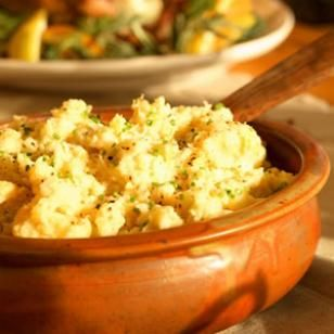 Mashed Roots with Buttermilk & Chives Plain mashed potatoes may seem a ...