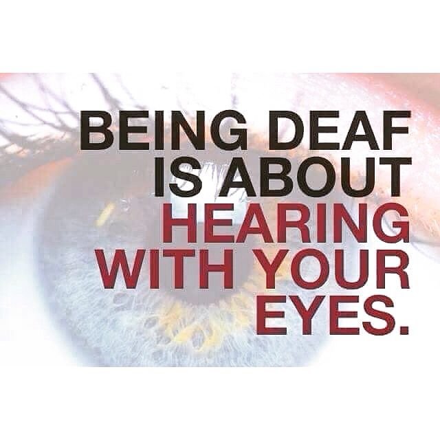 Quotes About Love: 80 Best Images About Deaf Proud On Pinterest