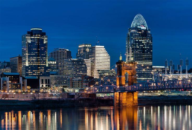 Cincinnati Skyline  by Jayson Gomes on 500px