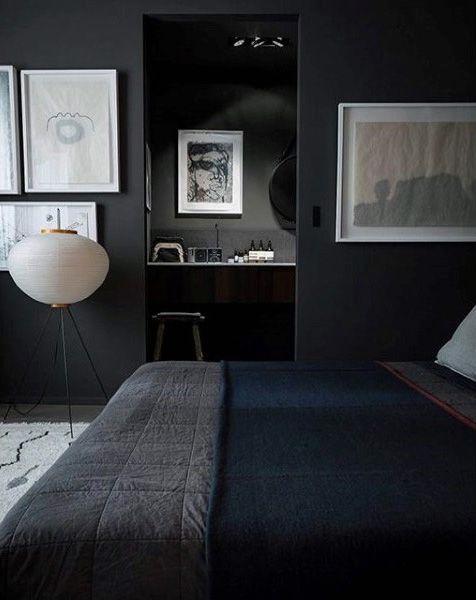 80 Bachelor Pad Men's Bedroom Ideas                                                                                                                                                      More