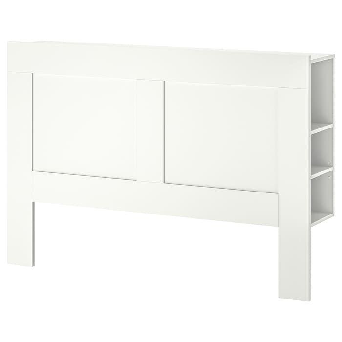 Brimnes Hoofdeinde Met Bergruimte Wit 160 Cm Ikea Hoofdeinde Opslag Bedden Opslag
